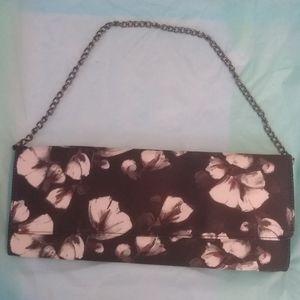 NWOT White House Black Market Floral Bag